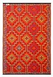 FAB HAB Lhasa - Orange & Violet (90cm x 150cm)