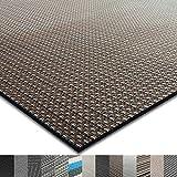 casa pura® Indoor- und Outdoor-Bodenbelag Modena   kunstvoll gewebter Terrassenteppich   als Outdoor Teppich Meterware oder Läufer für innen   40 Größen (60x150cm)