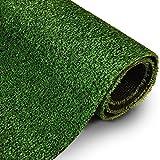 Rasenteppich Gesamthöhe 7 mm 1400 gr Gesamtgewicht Rasenteppich (100 cm x 150 cm)