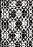 bougari In- und Outdoor Teppich Karo Schwarz, 200x290 cm
