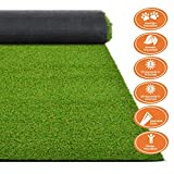 Premium Kunstrasen   Rasenteppich   Rollrasen   Kunststoffrasen   Garten-Rasen   Rasen für Balkon, Terrasse & Garten   viele Modelle   verschiedene Größen & Stärken (Terraza (Höhe: 18mm), 100x100 cm)