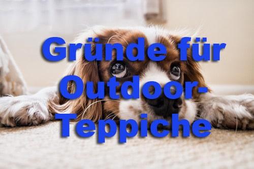 Gründe für Outdoor-Teppiche