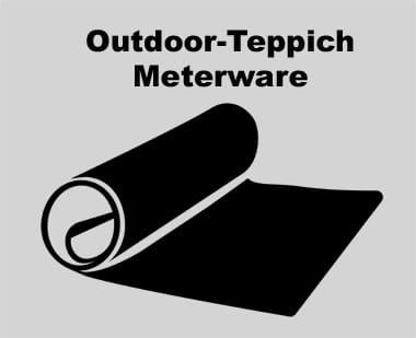 Outdoor-Teppich Meterware - Dein Wunschteppich ganz einfach zuschneiden lassen.