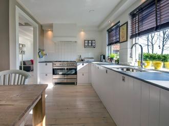 Outdoor Teppich in der Küche