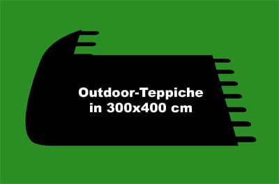 Outdoor-Teppiche mit den Maßen 300x400 cm