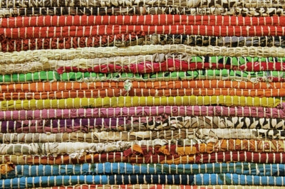Outdoor-Teppich im Vintage-Stil